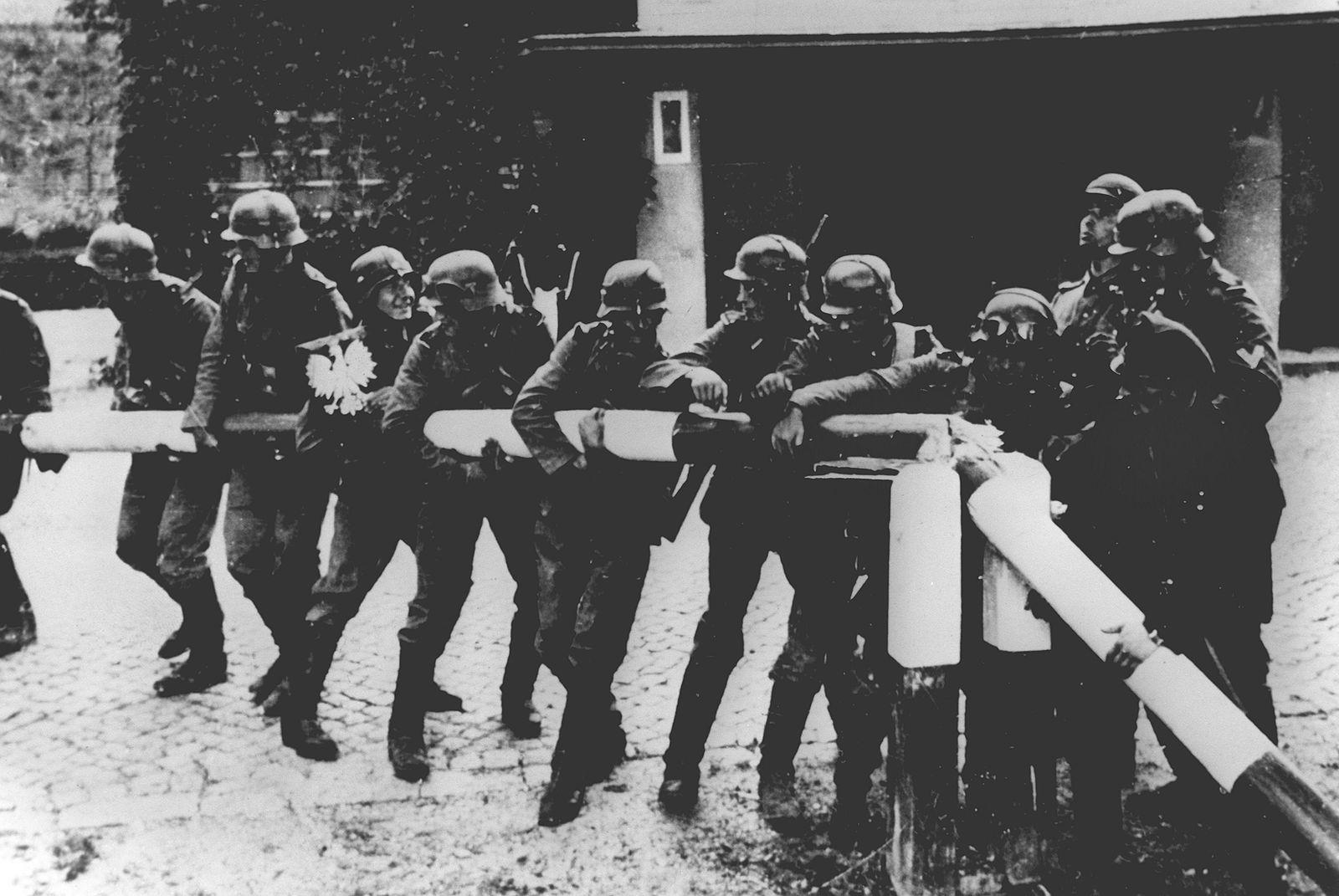 Deutscher Überfall auf Polen - Beginn des II. Weltkrieges