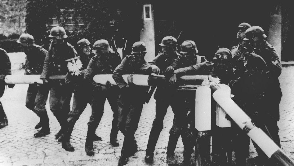 1. September 1939: Einmarsch deutscher Truppen in Polen