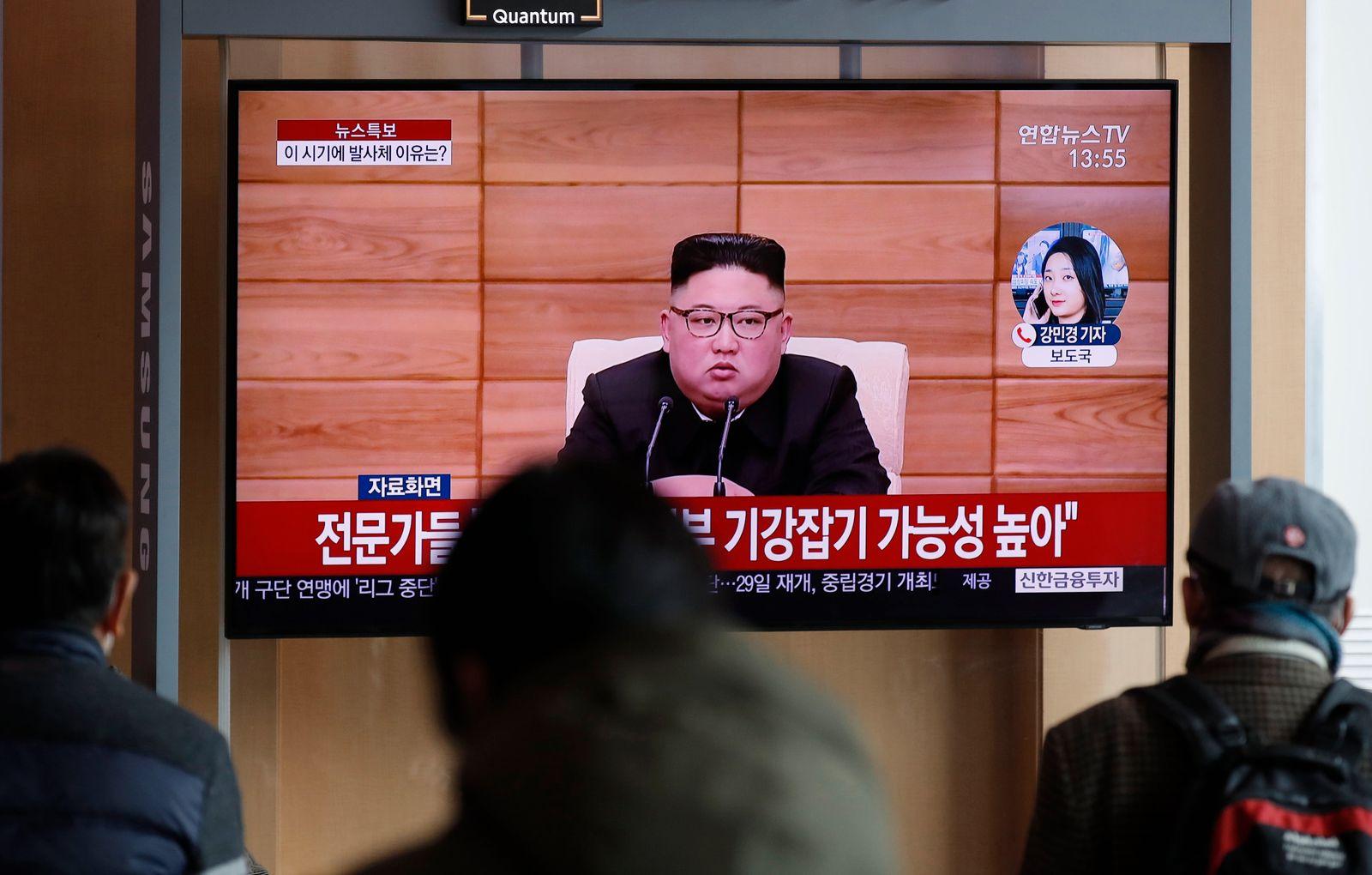 Nordkorea unternimmt neue Waffentests