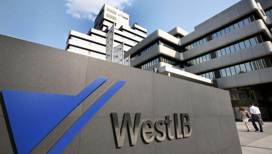"""WestLB-Zentrale in Düsseldorf: """"Landesegoismen nicht entscheidend"""""""