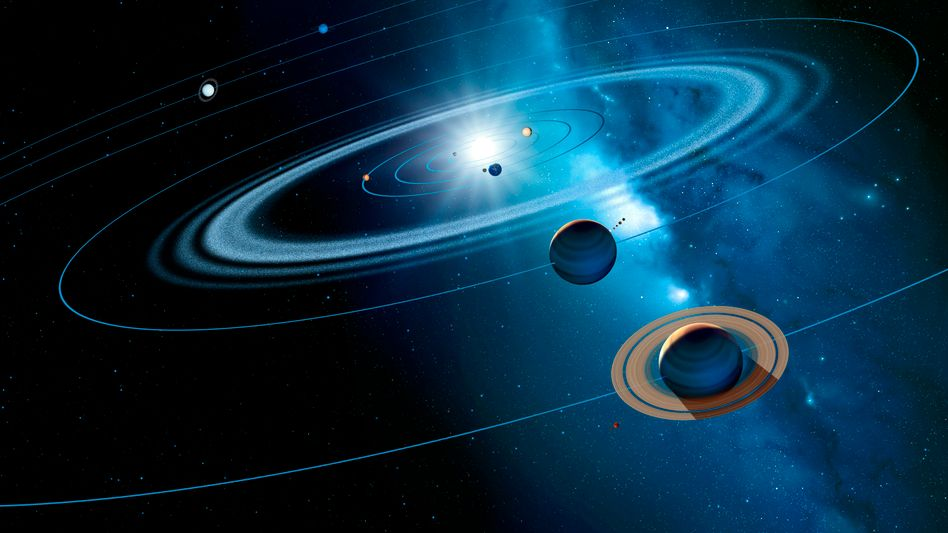 Der Weltraum, unendliche Verdienstmöglichkeiten: Hunderttausende Himmelkörper, die noch keine Spitzhacke getroffen hat