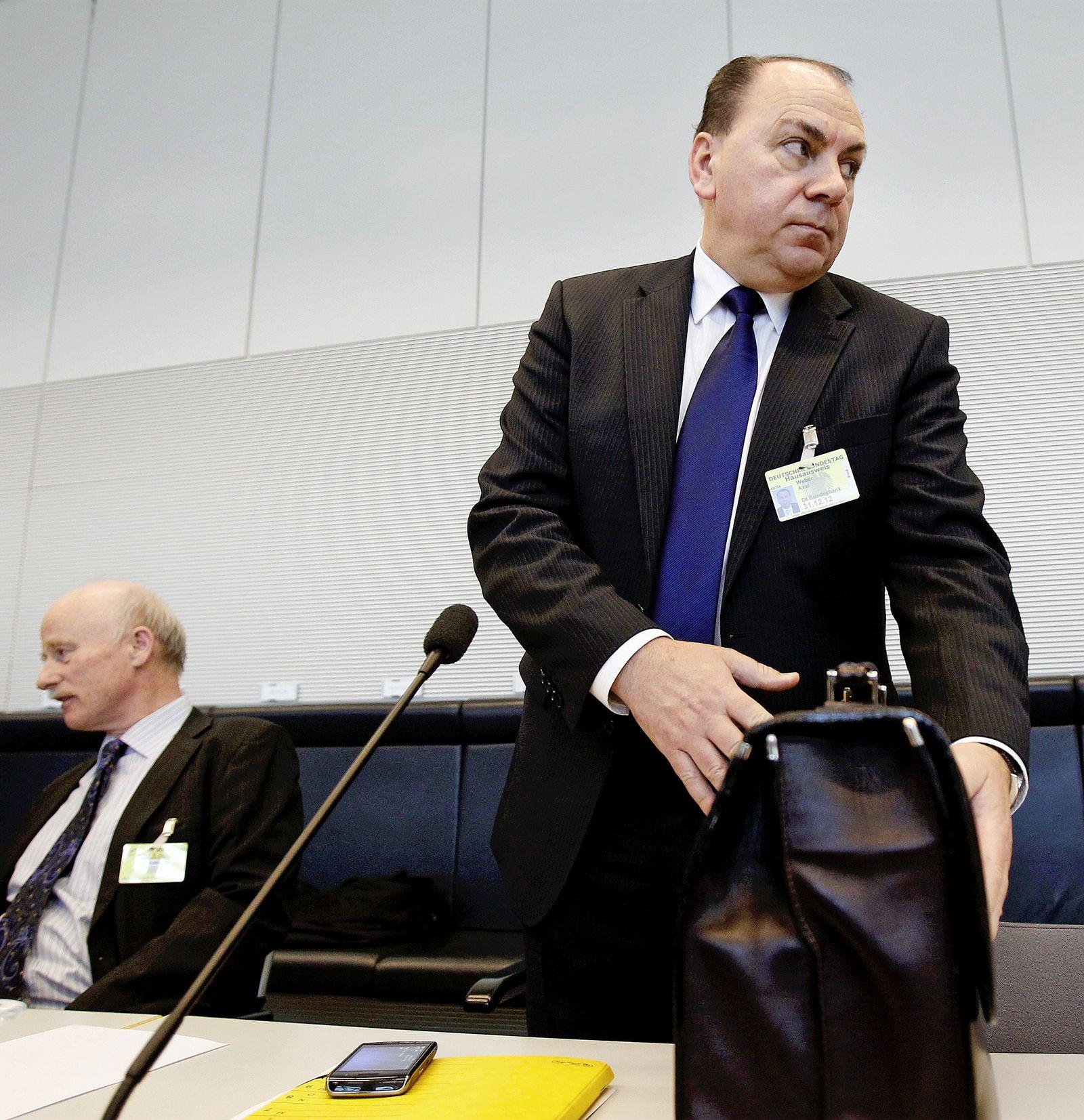 ECB/WEBER Axel Weber