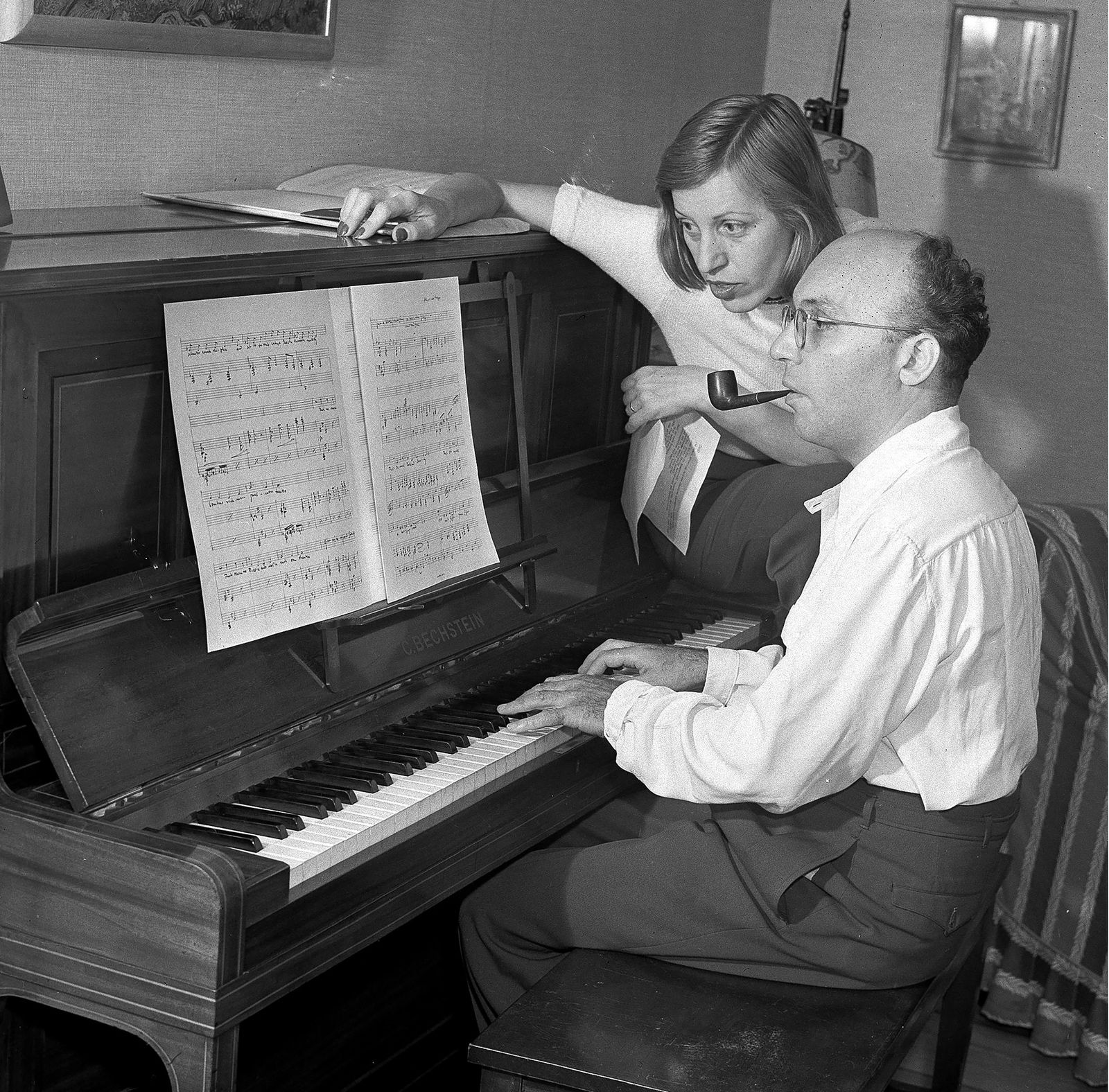 Kurt Weill and his wife