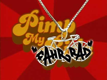 """It's """"Pimp My Fahrrad"""" from MTV in Germany!"""