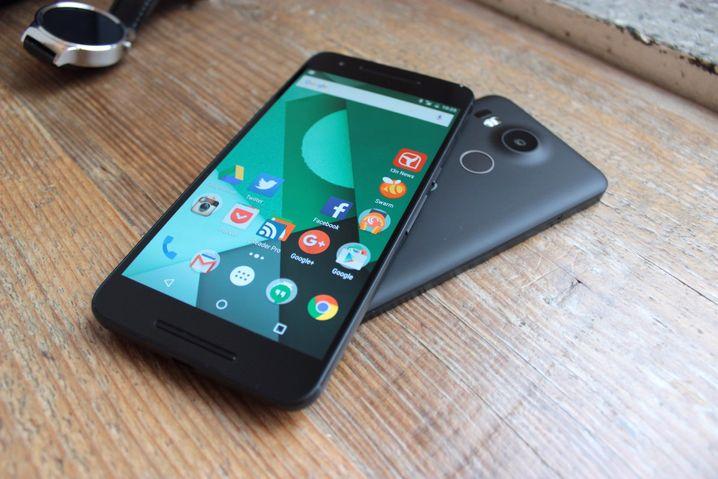 Android Nougat für Nexus 6P und Nexus 5X ist sicher