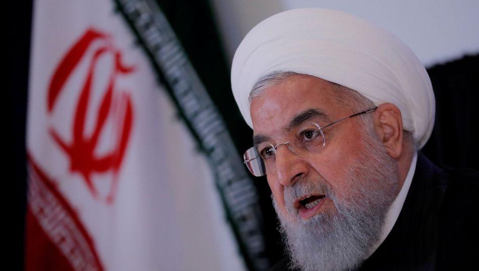 Irans Präsident Hassan Rohani (Archivbild vom September 2018)