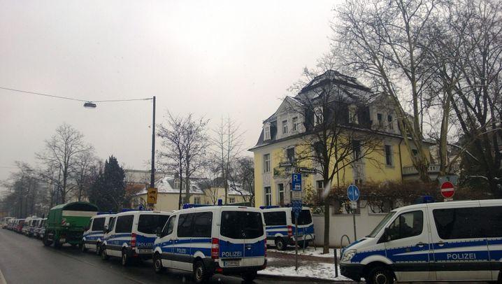 Ermittlungen gegen S&K: Razzia in Frankfurt am Main