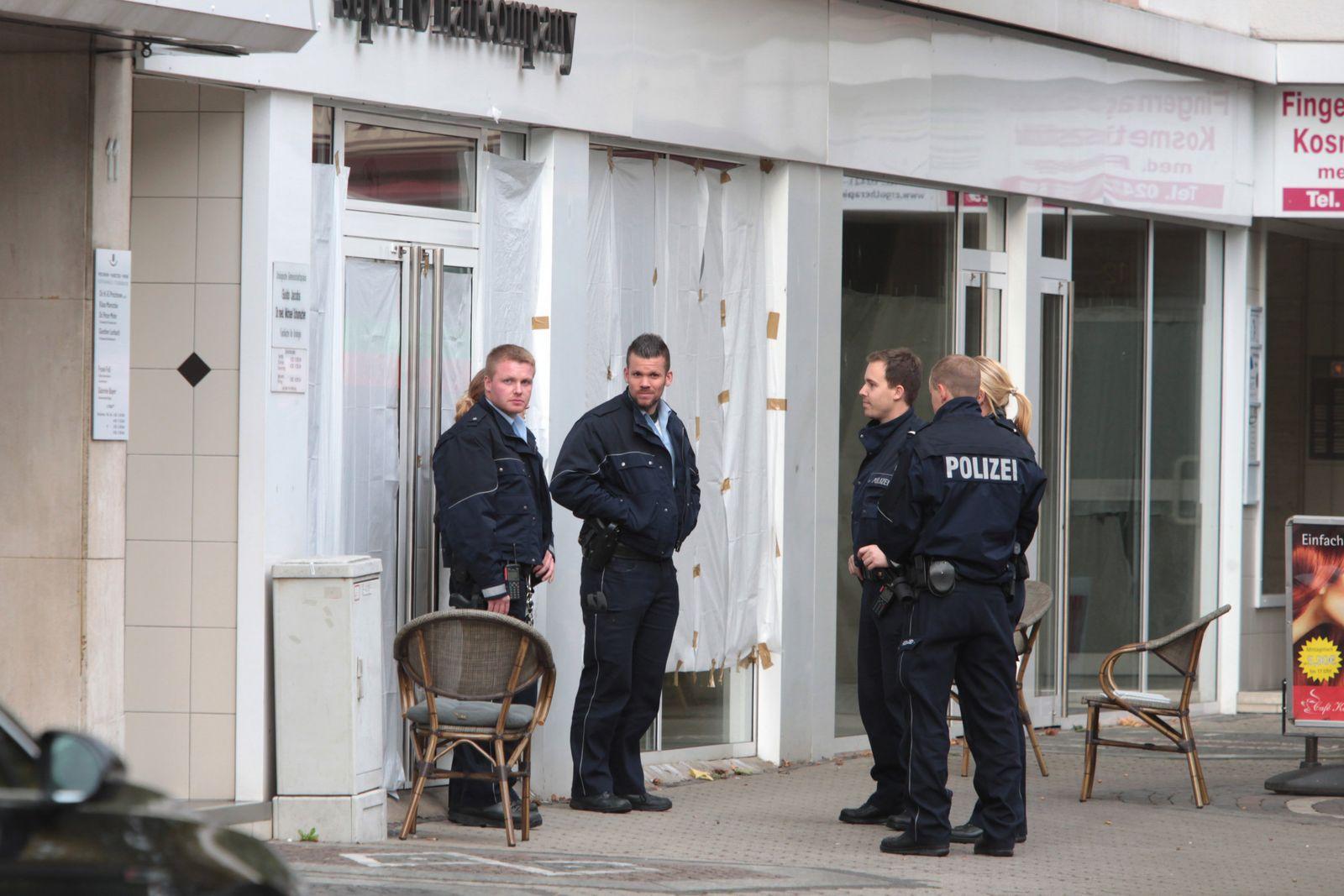 Polizeieinsatz Düren