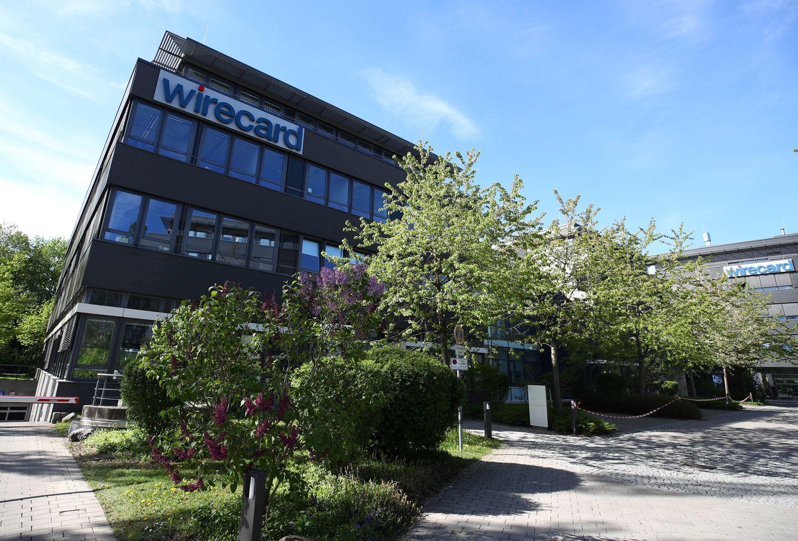The headquarters of Wirecard AG is seen in Aschheim near Munich