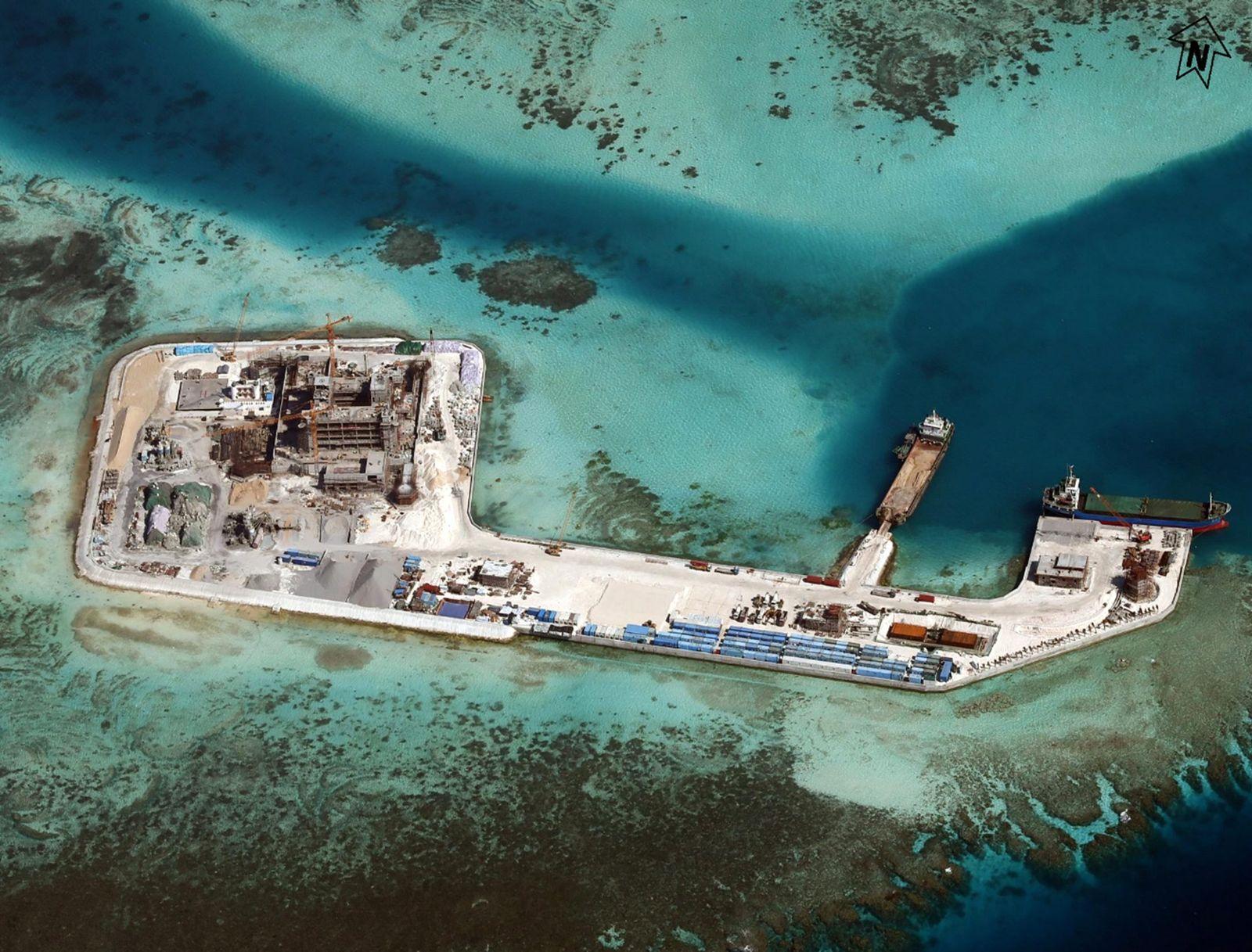 EINMALIGE VERWENDUNG Spratley Islands
