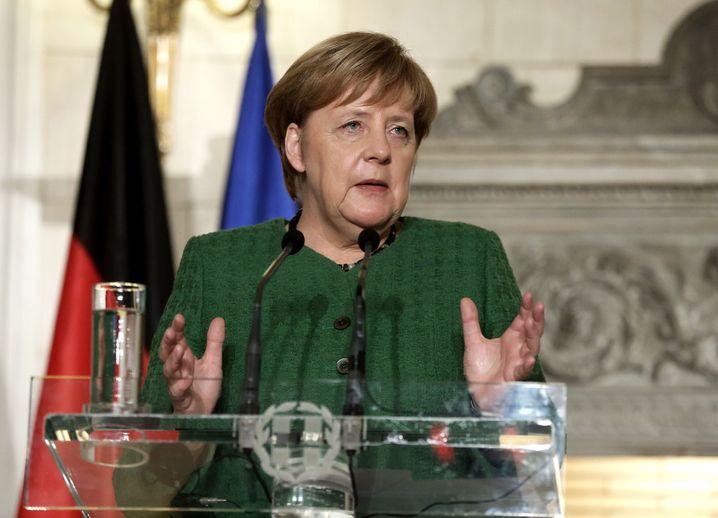 Merkel in Griechenland