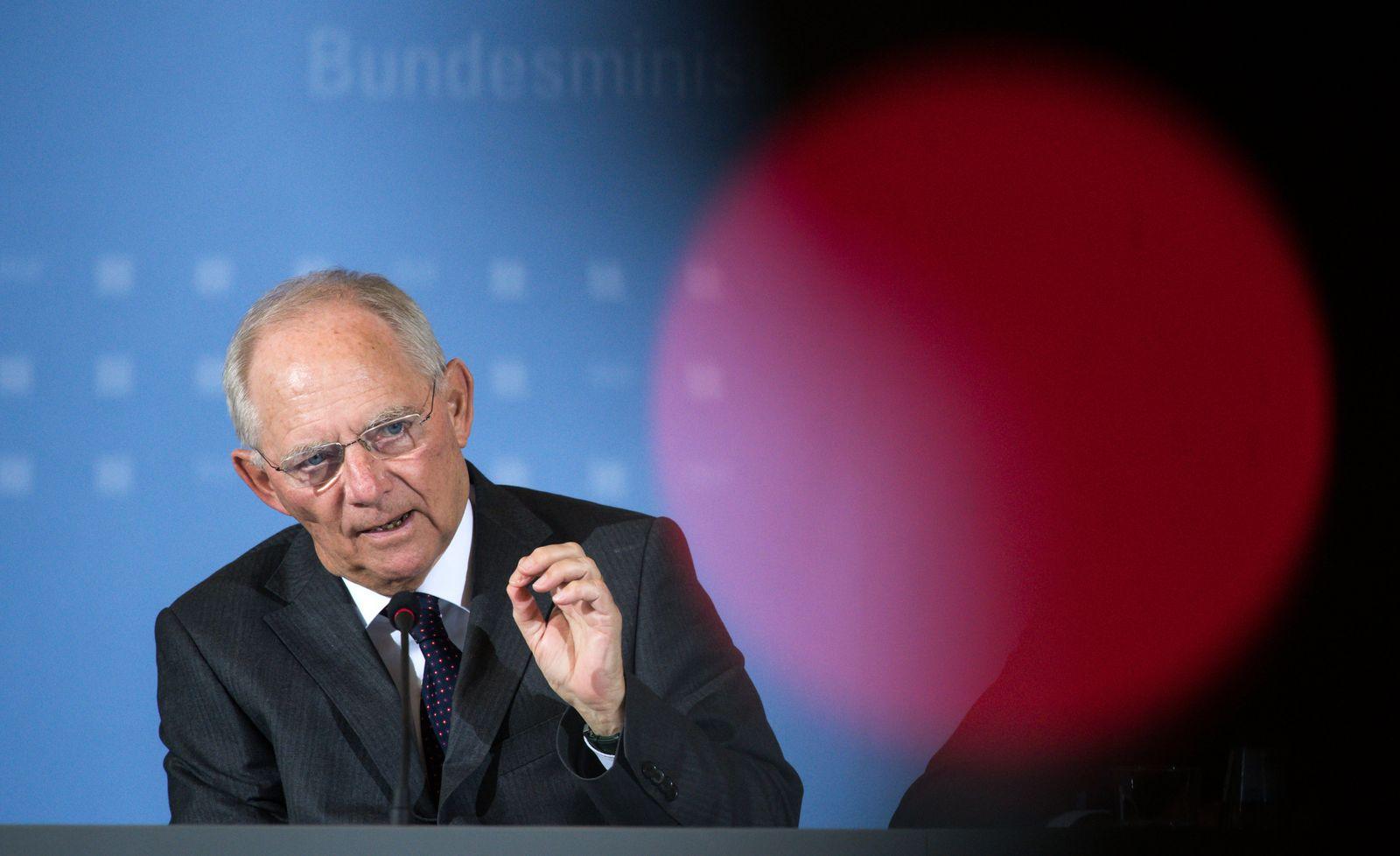 BREXIT/ Bundesfinanzminister Wolfgang Schäuble