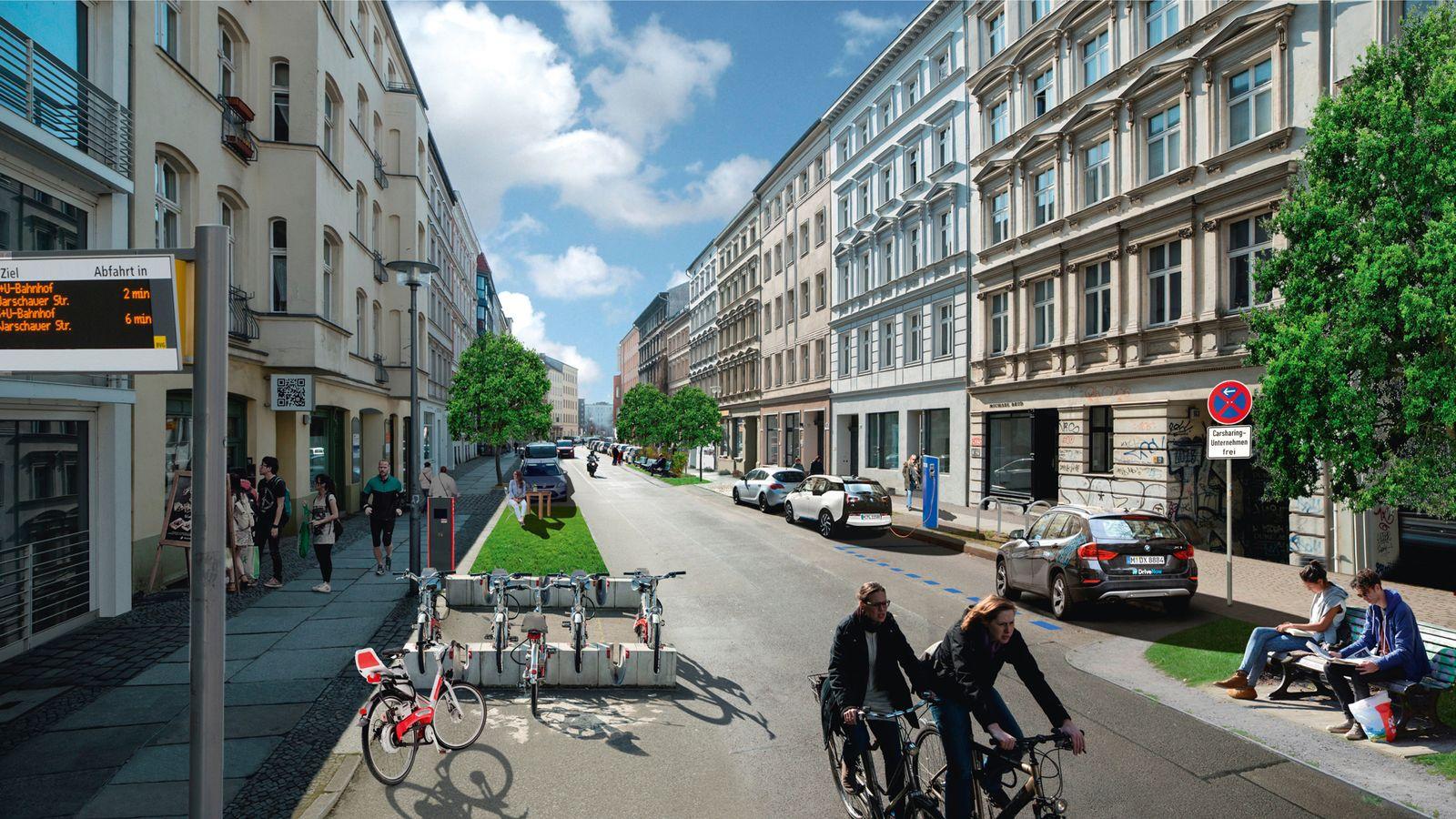 EINMALIGE VERWENDUNG Projekt NEUE MOBILITT BERLIN in Charlottenburg-Wilmersdorf SOMMERFLOTTE