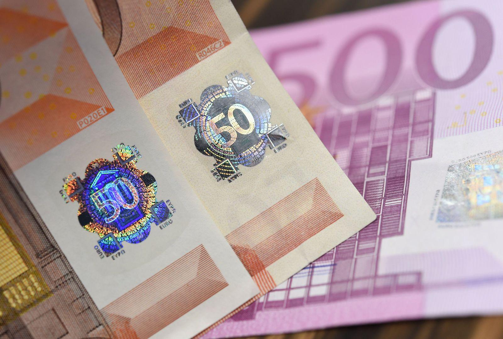 Mehr Falschgeld im Umlauf