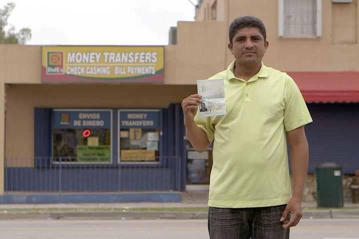 Bauarbeiter Brando Alavarenga aus Honduras: 14 Dollar Stundenlohn