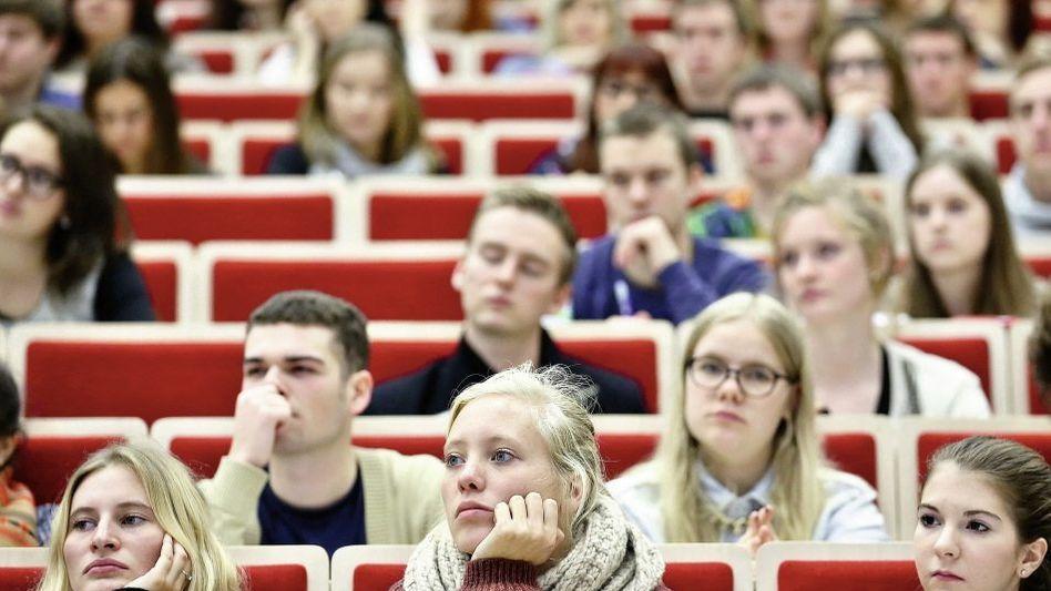 Studenten in Leipzig