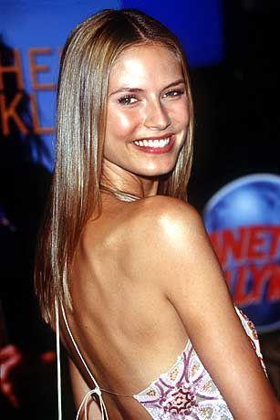 Supermodel Heidi Klum kam immerhin auf Platz 41