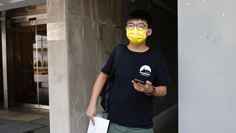 Demokratieaktivist Joshua Wong