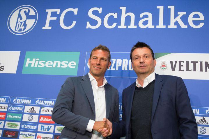 Schalke-Macher Markus Weinzierl, Christian Heidel
