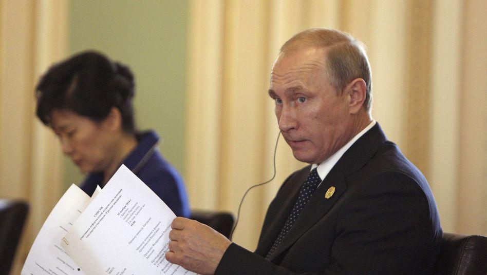 Russlands Präsident Putin: Deutsche lehnen schärfere Sanktionen ab