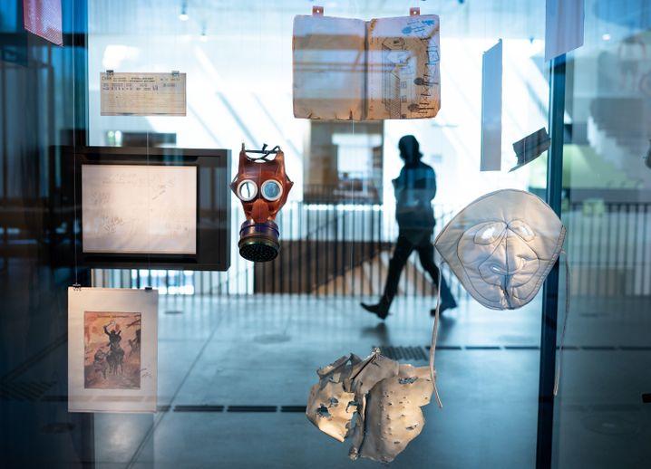 Ausstellung im Dokumentationszentrum der Stiftung Flucht, Vertreibung, Versöhnung
