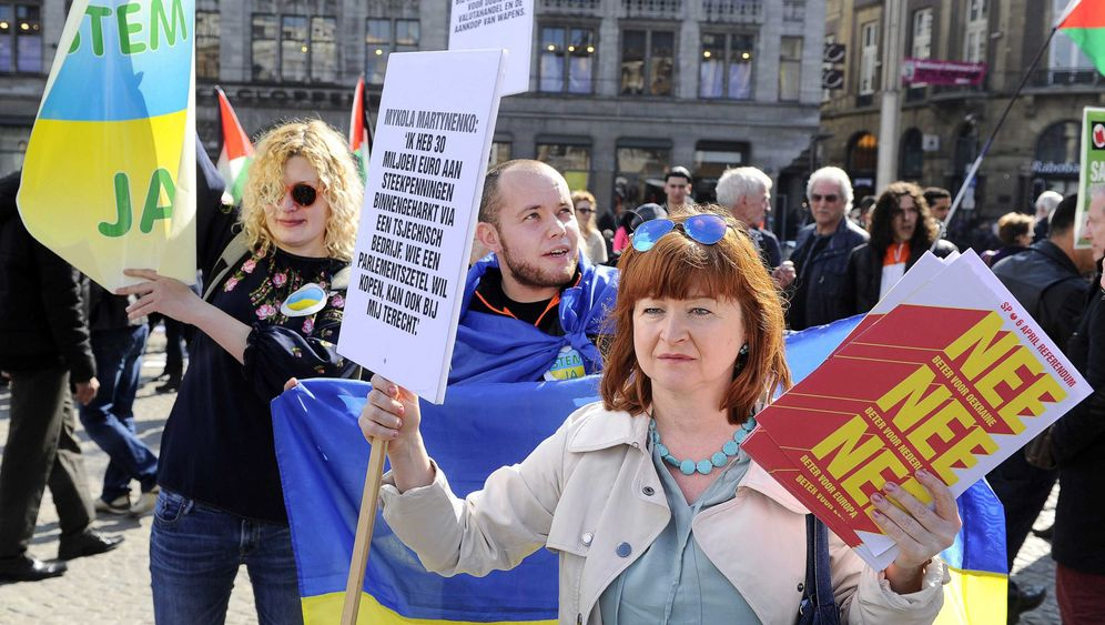 Niederlande: Referendum über Ukraine: Stimmzettel als Denkzettel für die EU