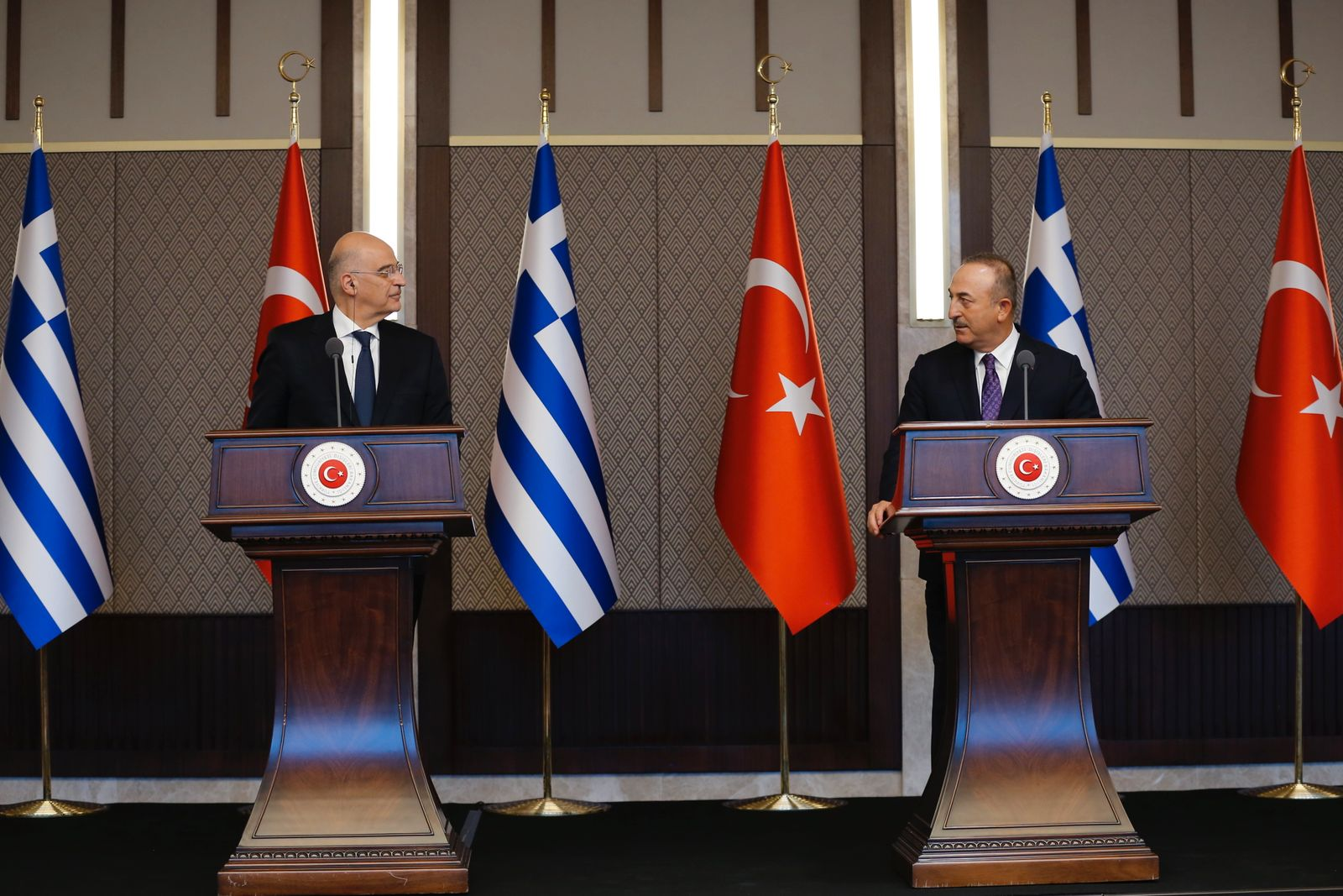 Greek Foreign Minister Dendias visits Turkey