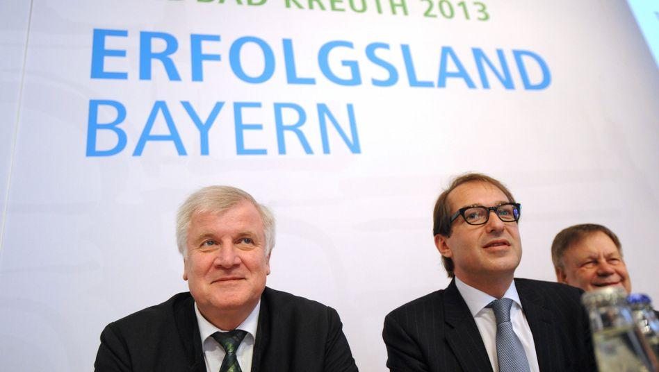 CSU-Chef Seehofer: Klare Worte an die FDP