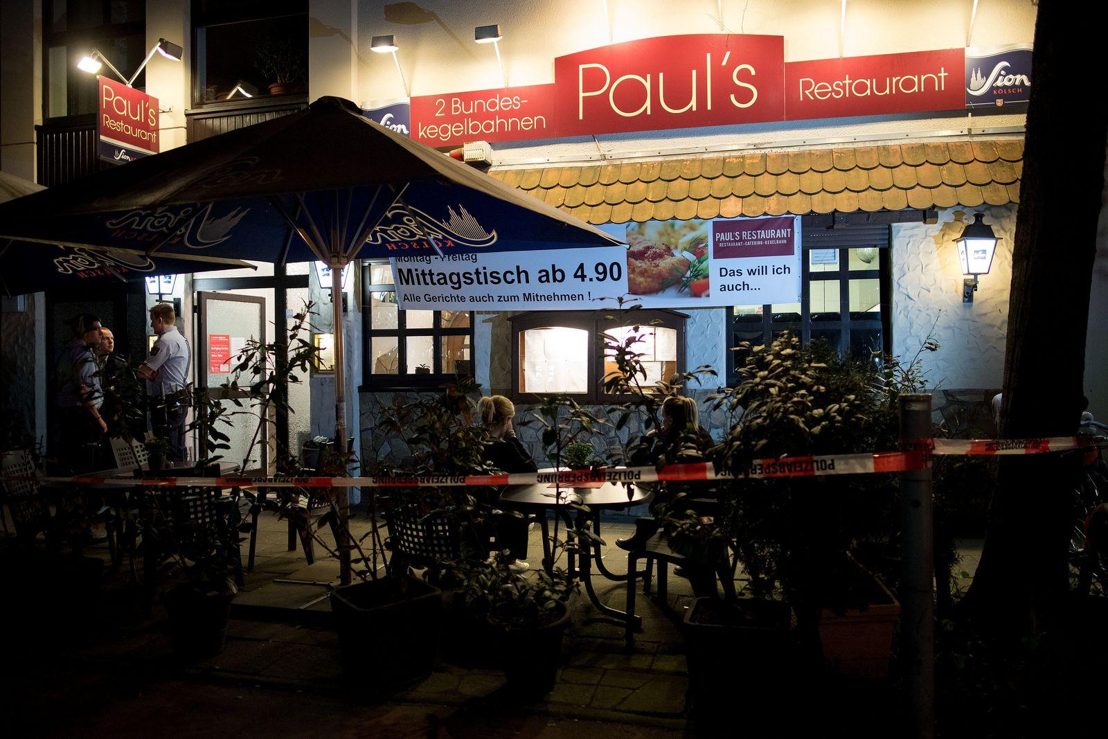 Zwei Tote in Restaurant in Köln