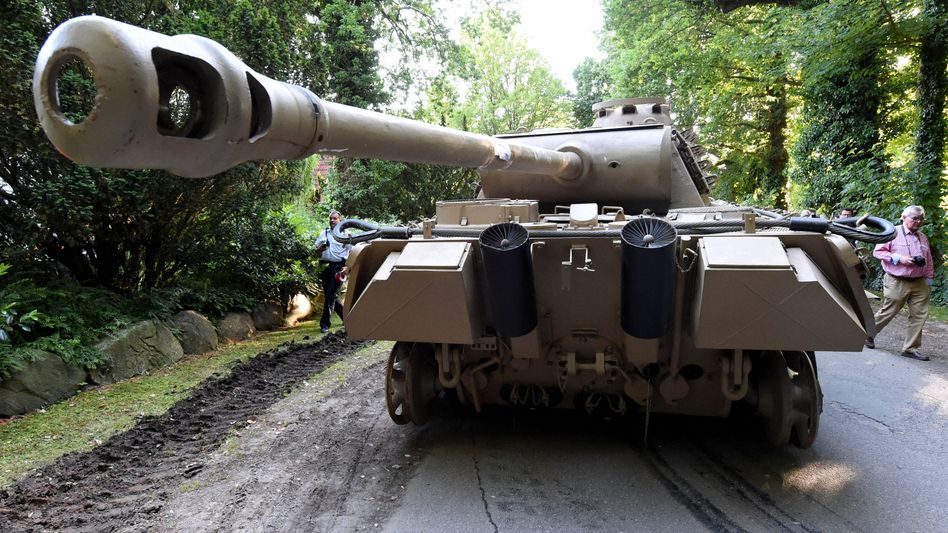 Panzer des Rentners (Archivbild)