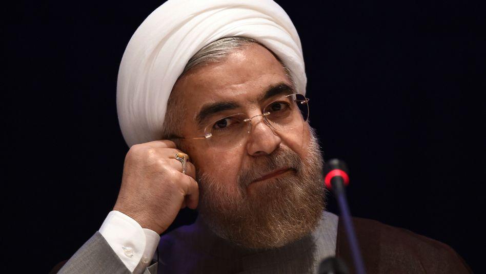 Präsident Rohani in New York: In Iran gibt es weiterhin Hunderte politische Gefangene