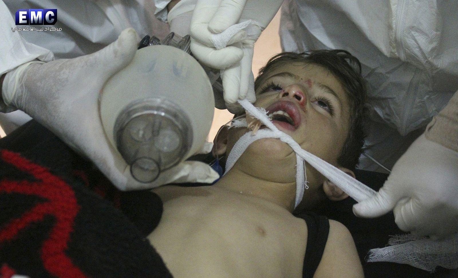 Syrien/Sarin
