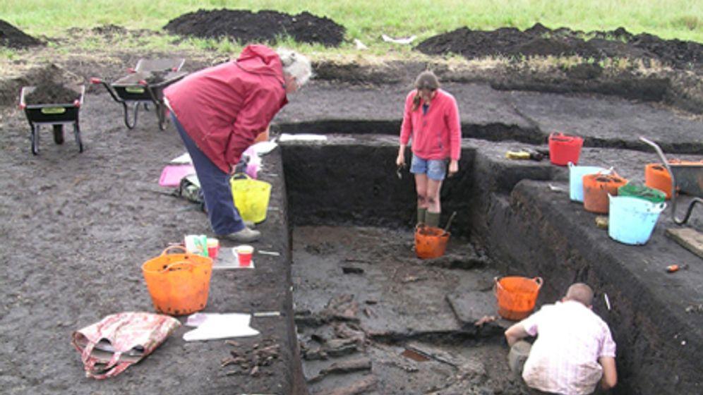 Blick in die Vergangenheit: 11.000 Jahre altes Haus ausgegraben