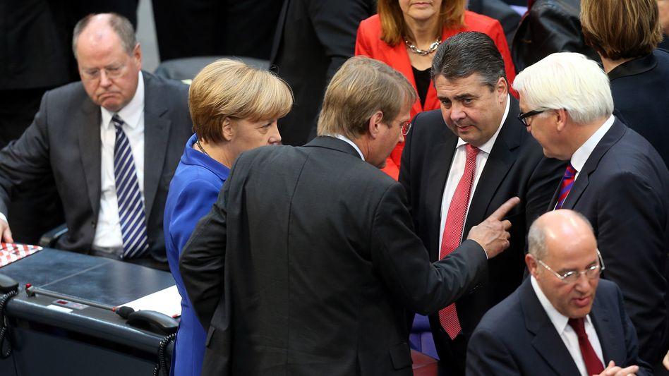 Politiker von Schwarz-Rot: Verhandlungsgruppen stehen fest