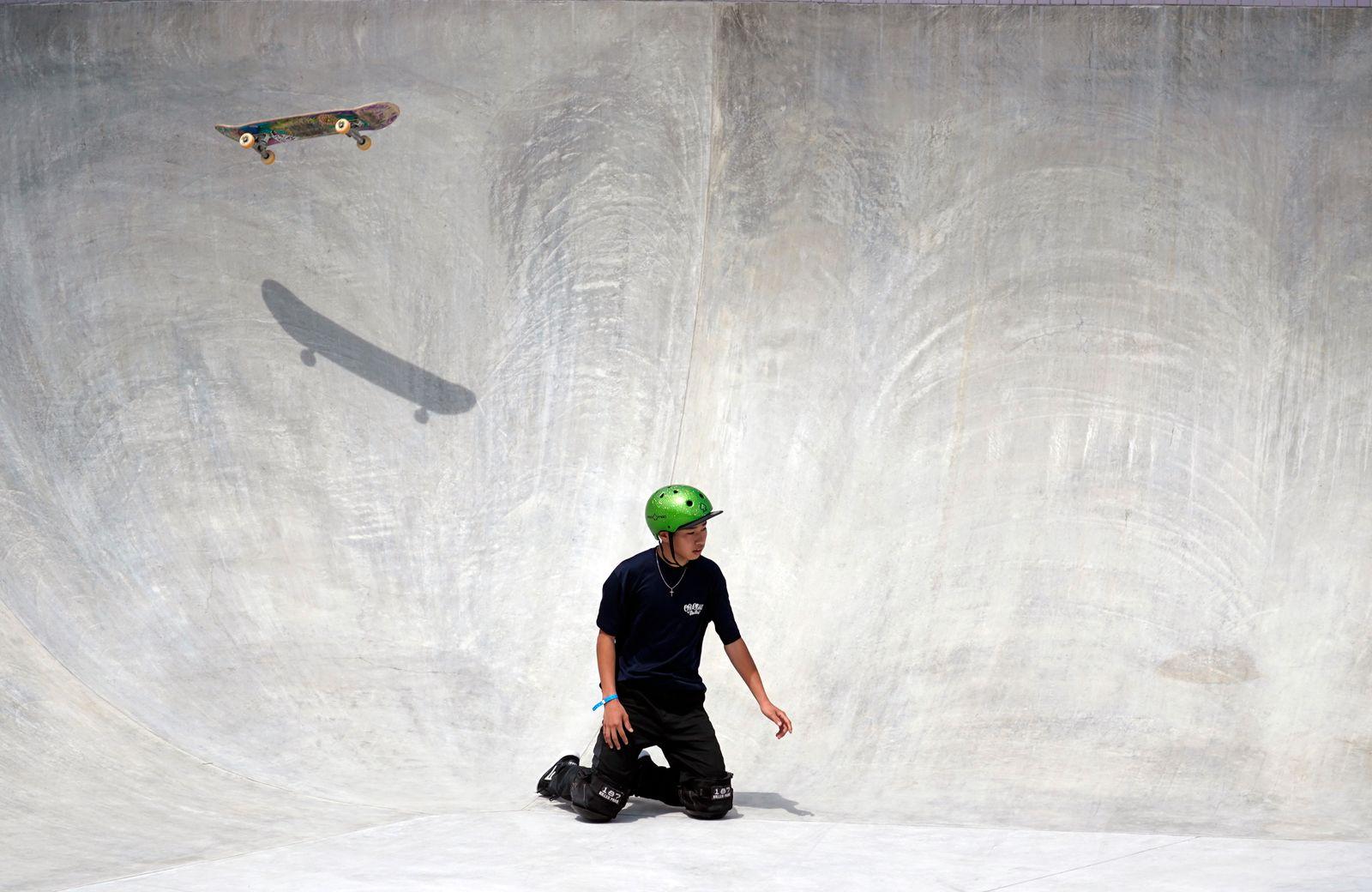 Tokyo Olympic Games skateboarding test event