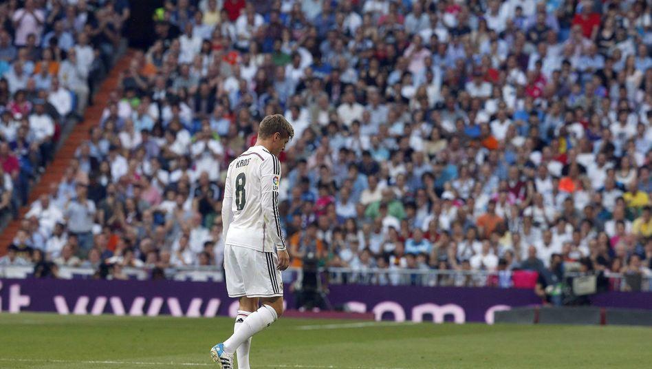 Madrids Kroos: Gegen Valencia ausgewechselt