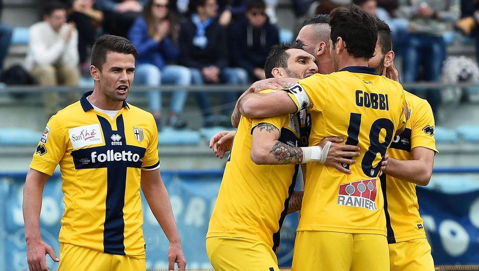 Profis des FC Parma: Klub steht von sofort an zum Verkauf