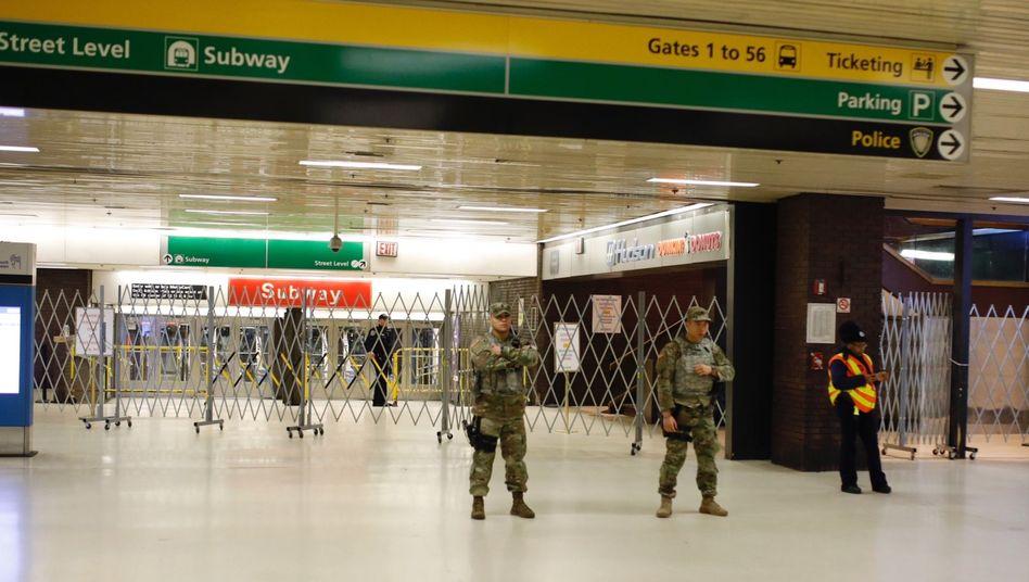 Anschlag inNew York: Bombe explodierte nicht vollständig