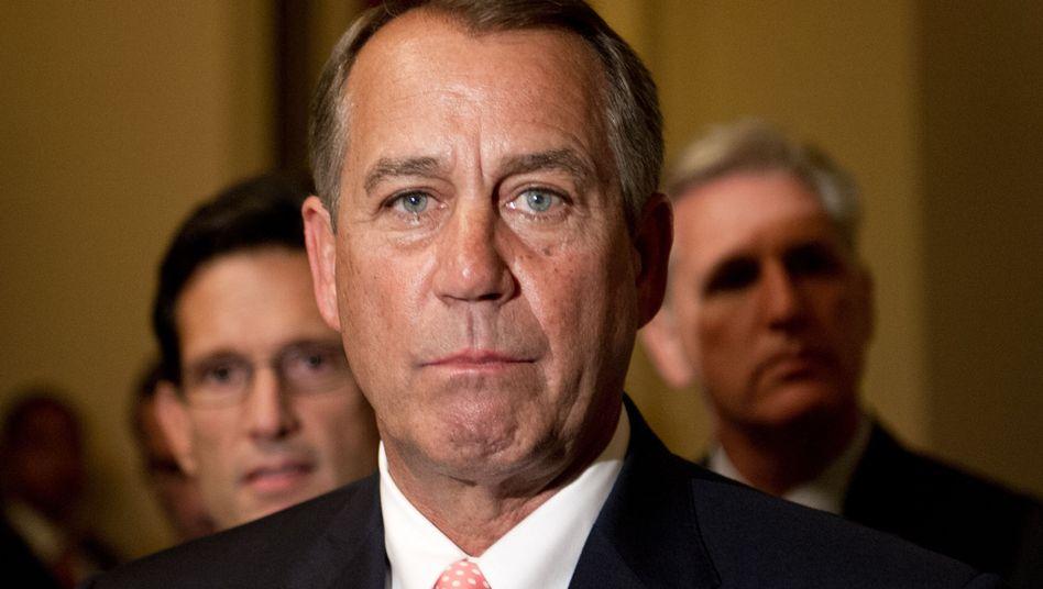 Republikanischer Sprecher Boehner: Kaum Posten zu verteilen