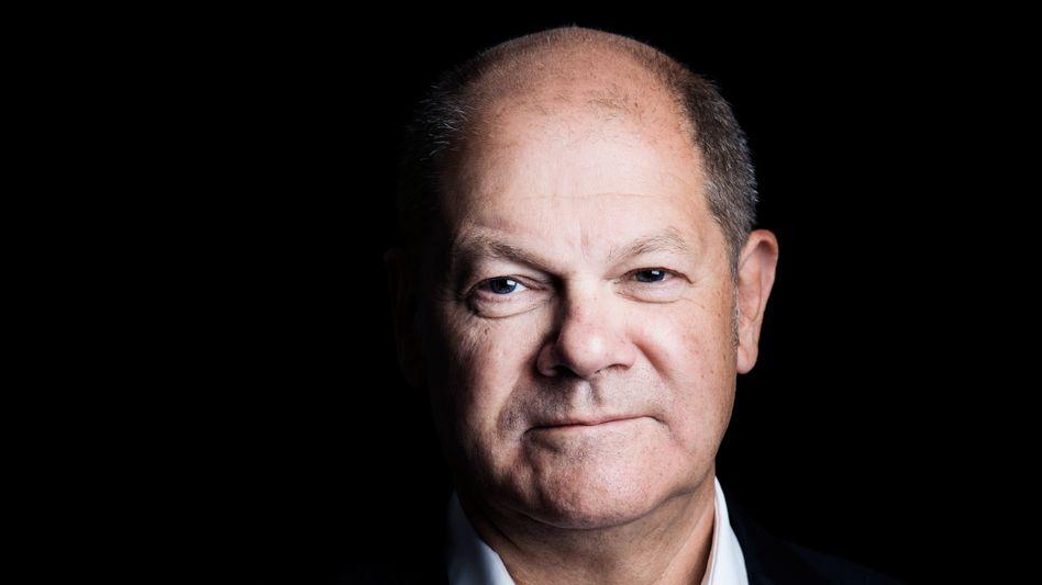 Spitzenkandidat Scholz: Gefährlich nah am einstelligen Bereich