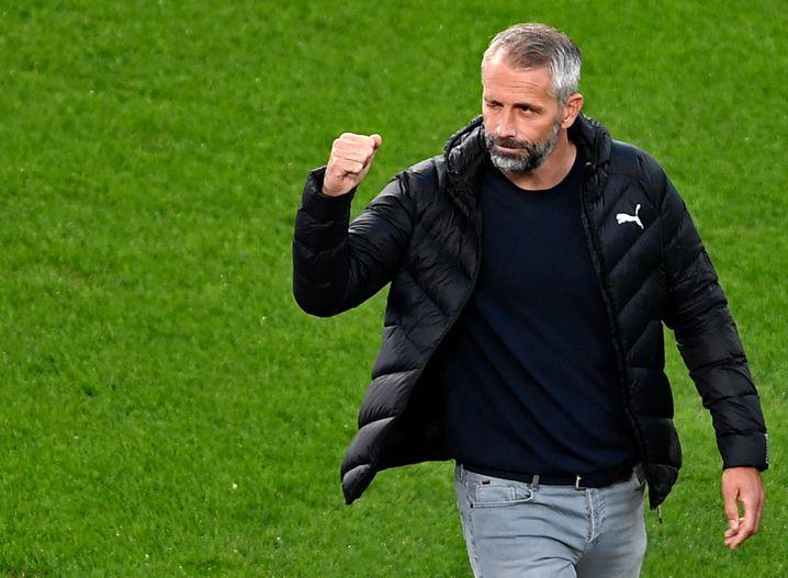Dortmunds Trainer Marco Rose