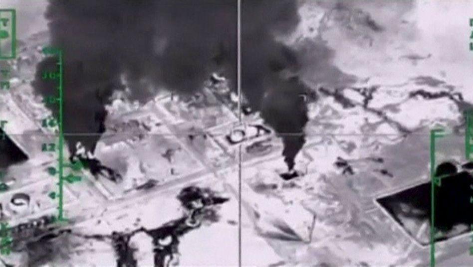 Russlands Angriffe auf syrische Ölfelder: Einnahmequellen sollen versiegen