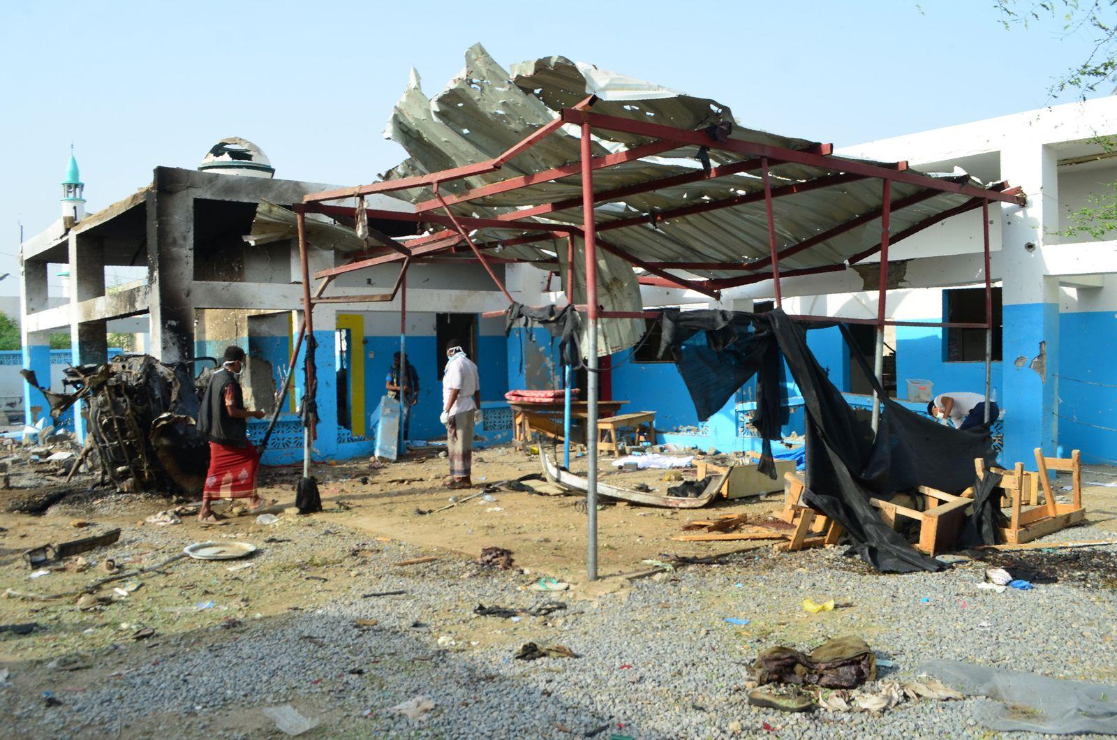 Jemen / Krankenhaus / MSF