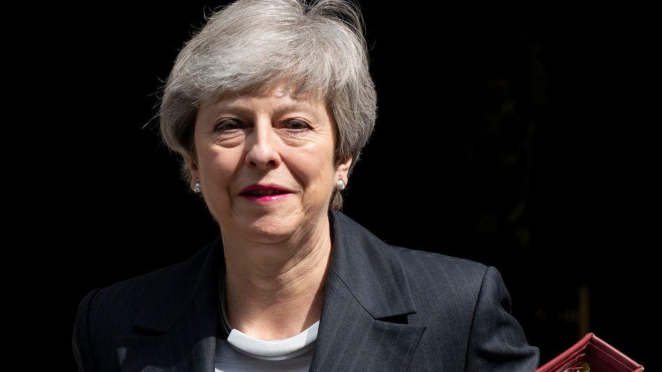 Die Suche nach einem Nachfolger hat begonnen: Theresa May gibt Parteivorsitz der Tories ab.