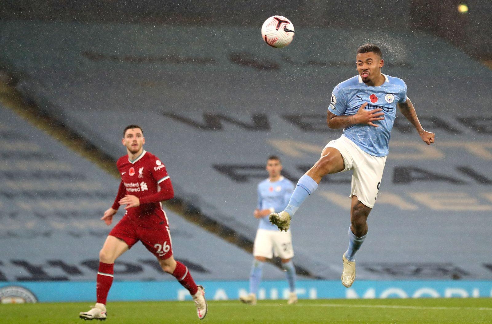 Manchester City vs Liverpool FC, United Kingdom - 08 Nov 2020