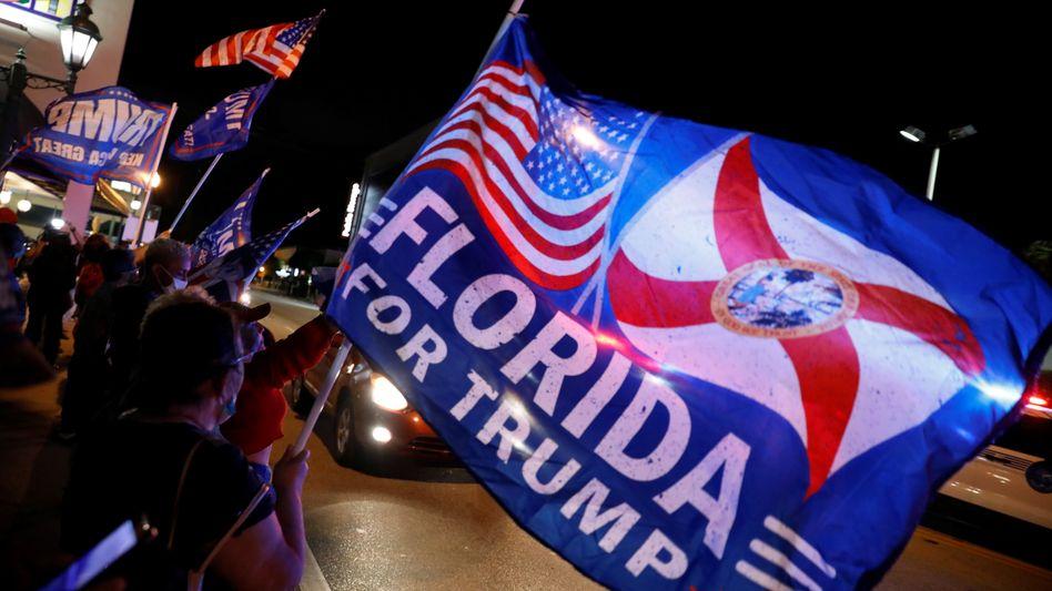 Florida als Vorentscheidung? Jubelnde Exilkubaner in Miami