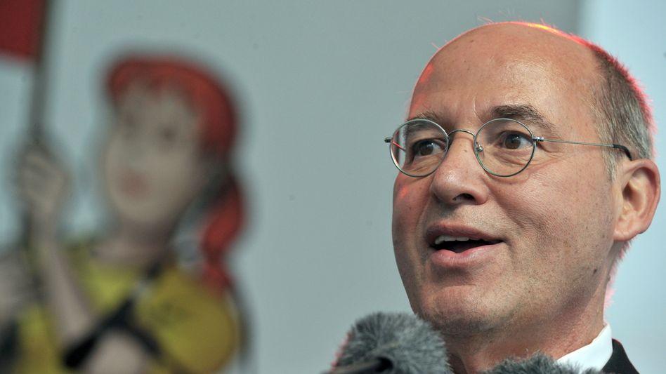 Fraktionschef Gysi (Archivbild): Kritik an Europa-Programmentwurf