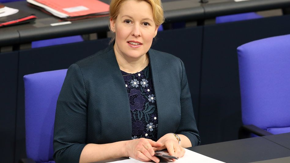 Franziska Giffey (SPD), Bundesfrauenministerin