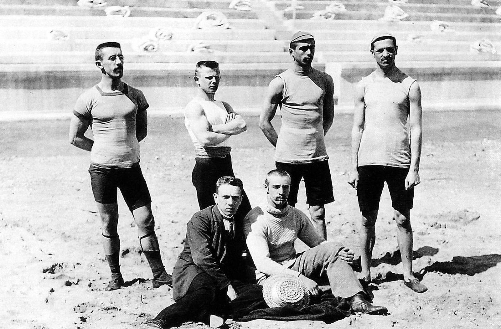 Olympische Spiele Athen 1896: Das ungarische Olympiateam