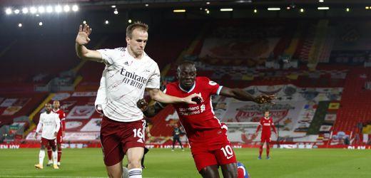 Premier League: FC Liverpool dreht Spiel gegen FC Arsenal